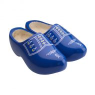 Blue Wooden Shoes